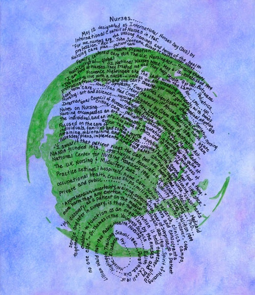 Nurse's fingerprint